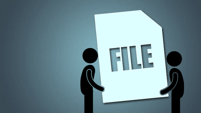 how to find big files on computer